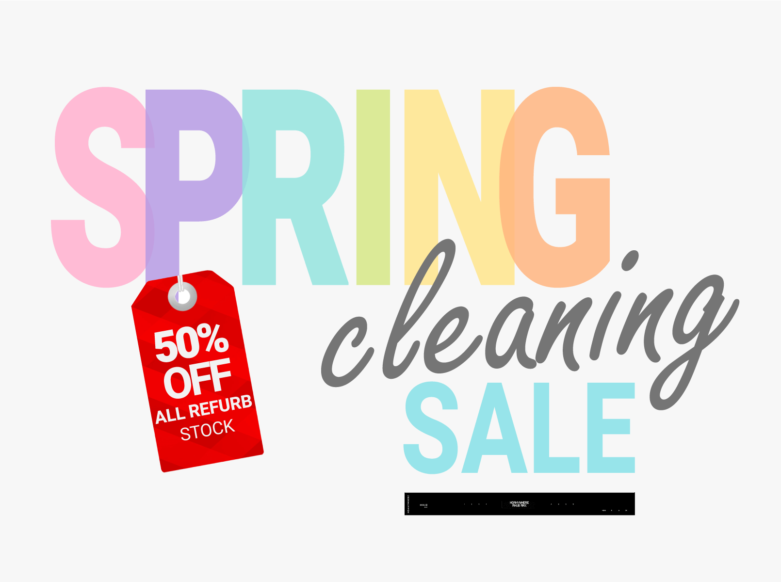 Spring Easter Sale: everything in the HDA Refurbished Store is now 50% off whilst stocks last